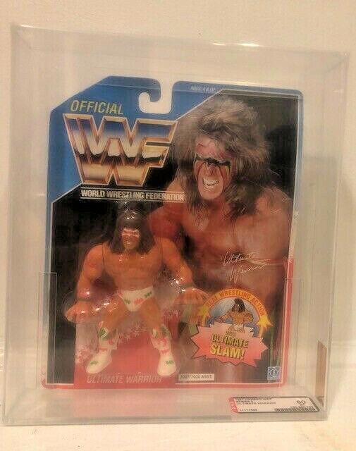 WWE Hasbro The Ultimate Warrior AFA
