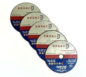 Mini-Cutting-Discs-Dronco-AS-46-T-BF-mini-cutting-disk-76-x-1-2-x-10-5-Pack