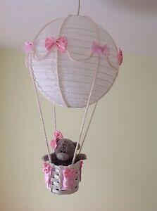 Me To You Tatty Teddy Hot Air Balloon Nursery Light Shade Ebay