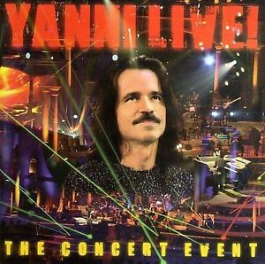 Live-The-Concert-Event-by-Yanni-CD-Aug-2006-Image-Entertainment-New-Sealed