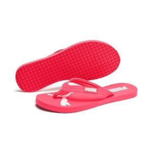 Details zu Puma Damen Cozy Flip Flop in PinkWeiss in Größe 38 42 NEU