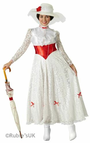"Mary Poppins /""Jolly Holiday/"" Fancy Dress Costume"