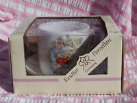 Reutter Porzellan Beatrix Potter Child's Cup and Saucer, Made in Germany