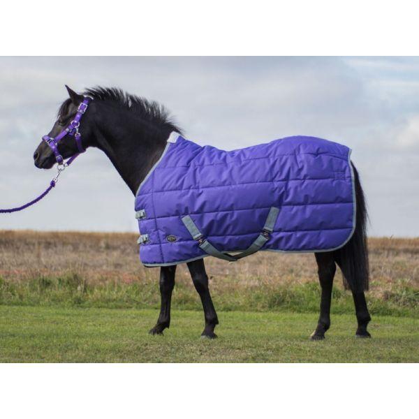 Mark Todd Pony Estable Alfombra Púrpura gris tamaños de 4' 3  a 5' 3