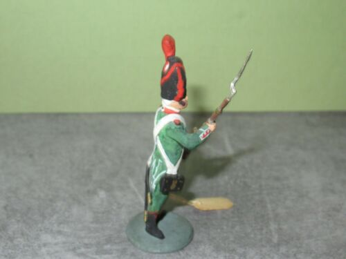 Figurine D Artiste Guy Renaud ?? = Soldat Au Fusil Du Rgt De La Tour Auvergne