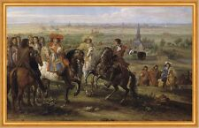 Louis XIV at the siege of Lille in August 1667 König van der Meulen B A1 00208