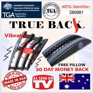 True Back Trueback australia pain relief traction device, New Vibrating Model!!
