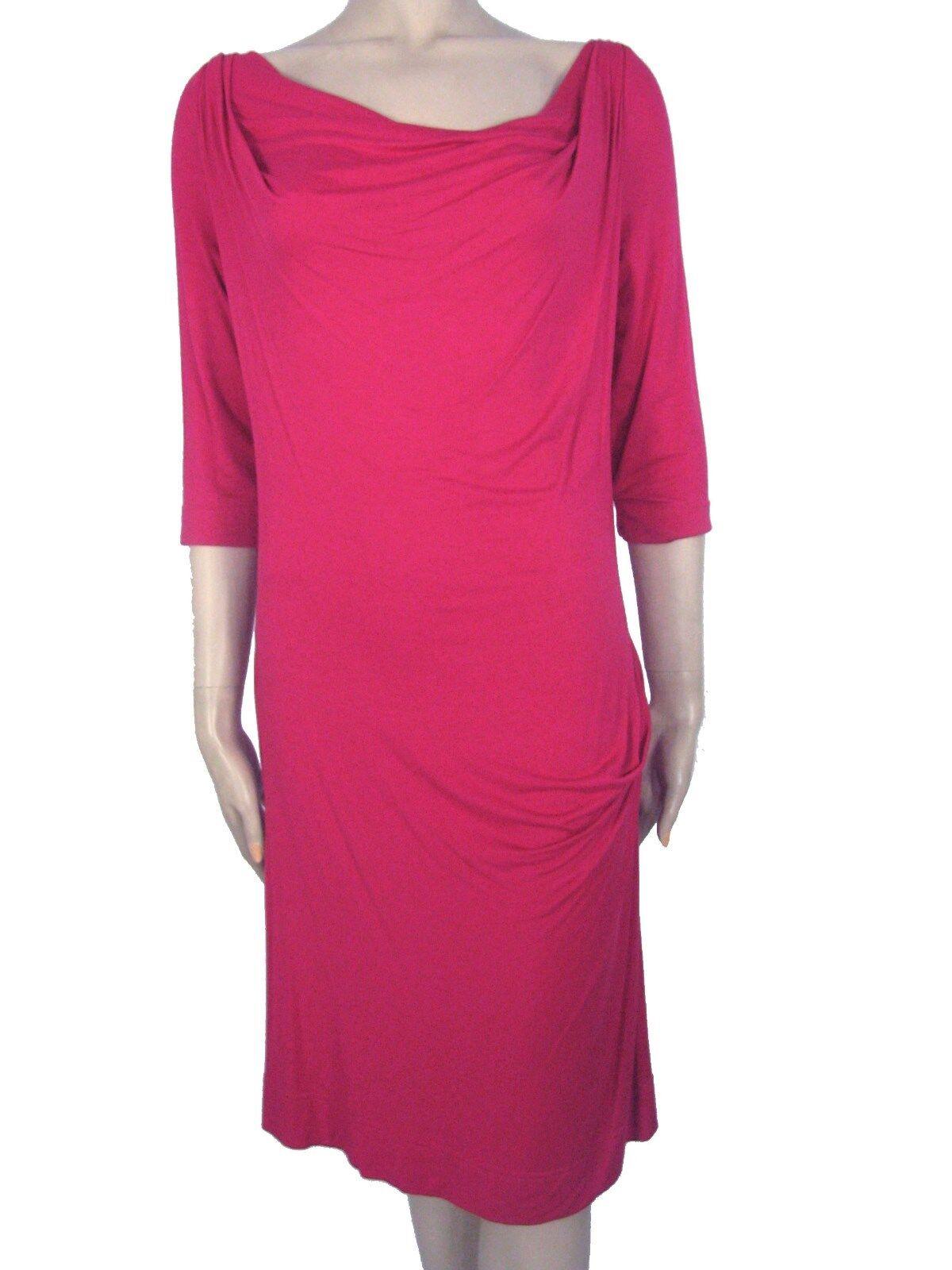 Nuevo con etiquetas VIVIENNE WESTWOOD Anglomania Rojo Vestido  Talla XXL Italia  punto de venta