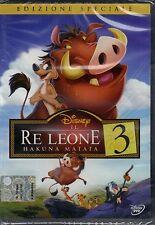 Dvd Disney **IL RE LEONE 3 • HAKUNA MATATA** nuovo 2004