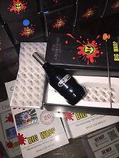 BIG WASP fully adjustable tattoo machine cartridge grip GLOSS BLACK sent from AZ