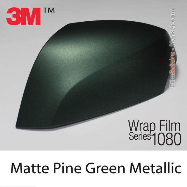 20x30cm LÁMINA Mate Pine Verde Metálico 3M 1080 M206 Vinilo Total CUBIERTA