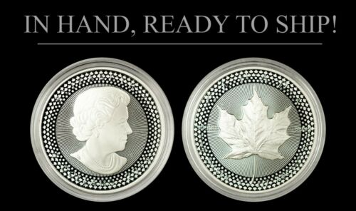 Pride of Two Nations Limited Edition Set 2019 Silver $5 Canadian Maple Leaf