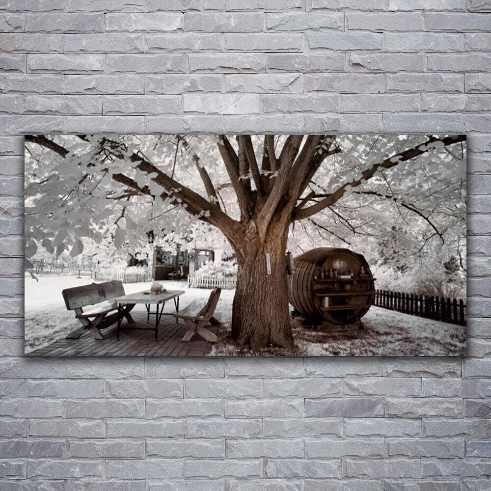 Photo sur toile Tableau Image Impression 120x60 Nature Arbre