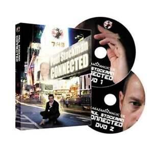 Connecté par Paul Stockman et Alakazam Magic - 2 Dvd