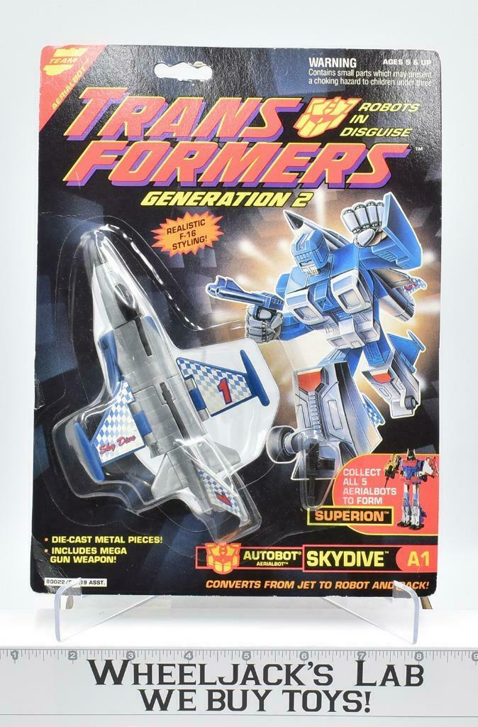 G2 cielodive 1993 MISB Sealed Vintage Hasbro Transformers azione cifra