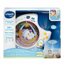 VTech Musical Dreams Bear Projection Crib Soother Light Projector NEW NIB