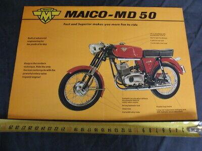 Brochure Maico Md 50