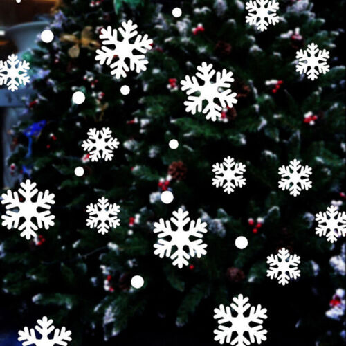 39X Christmas Snowflake Wall Sticker Home Decoration Sticker for Window Glass DS