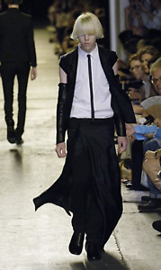 DIOR HOMME SS07 Runway Double-Breasted Waistcoat Hedi Vest