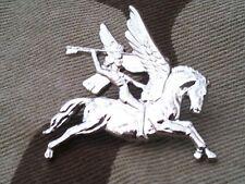 Airborne Pegasus Lapel Badge Parachute Military