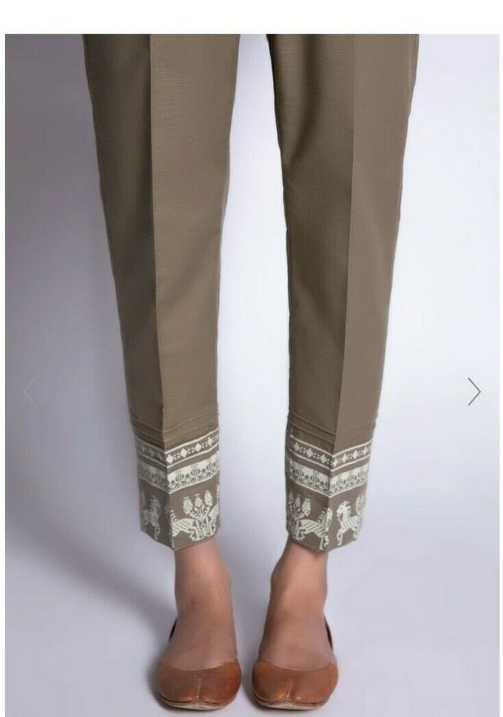 Pakistani Designer Ladies Sapphire Trousers Small