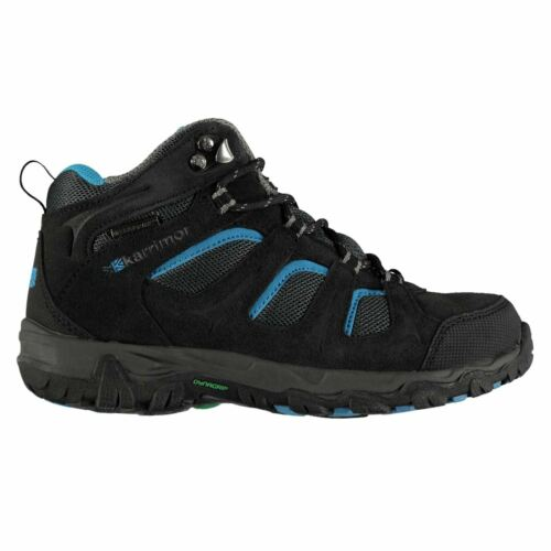 Karrimor Kids Mount Mid Top Childs Walking Boots Lace Up Waterproof Outdoor