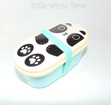 Kawaii Aiko Panda Friend Bento Lunch Box Anime Food Japan Sass & Belle UK Seller