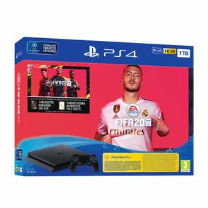 CONSOLE-PS4-PLAYSTATION-4-1TB-FIFA-20-NUOVA-GARANZIA-2-ANNI