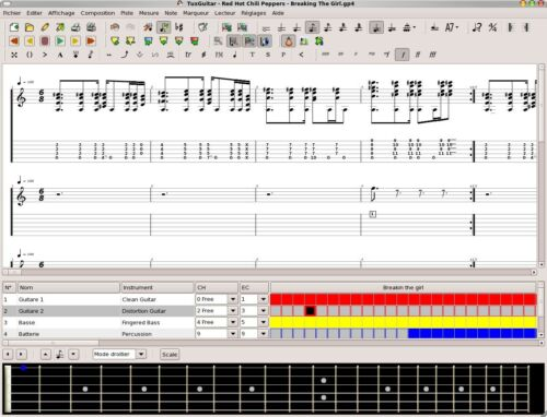 AC//DC Guitar Tab Lesson CD Software 87 Songs