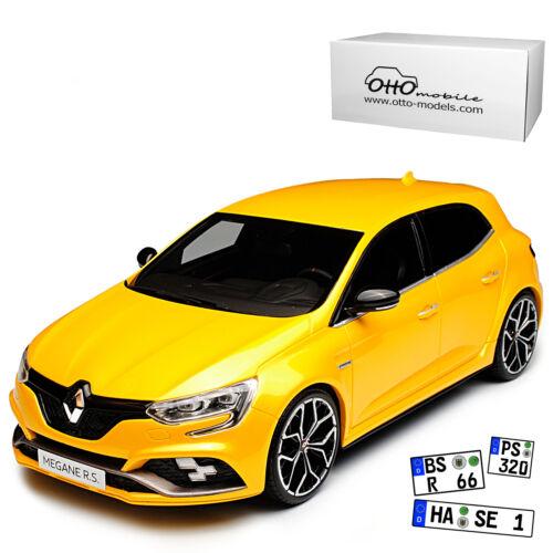 Generation Ab 2015 1//18 Otto Renault Megane RS IV Sirius Gelb 5 Türer Ab 2017 4