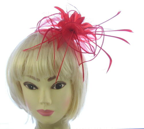 Prom choice of colour Large fascinator Ladies Day Ascot Races headband