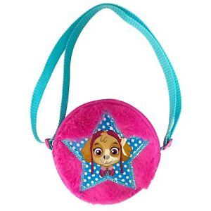 a877881895 Image is loading Nickelodeon-Girls-039-Paw-Patrol-Plush-Crossbody-Handbag-