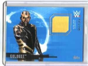 WWE-Goldust-2017-Topps-Undisputed-Event-Worn-Shirt-Relic-Card-SN-131-of-199