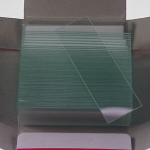 Microscope-Micro-Slides-Glass-25-4mmx76-2mm-clear-50pcs