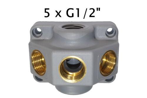 Pressured Air Splitter Pressurised Can Druckluftverteilerdose Throughput Socket