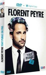 DVD-FLORENT-PEYRE-TF1-TOUT-PUBLIC-NEUF-FRANCE