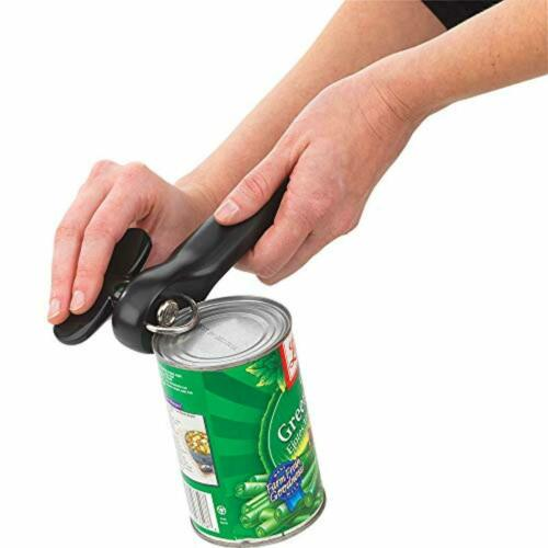 Good Cook Can Opener Safe Cut Manual Hand Tool No Sharp Can Edges Black 1 Piece