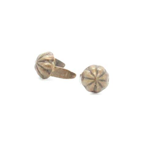 """Parachute Nailhead Spot Antique Brass 3//16/"""" Diam 100 pk NH00197-09"""