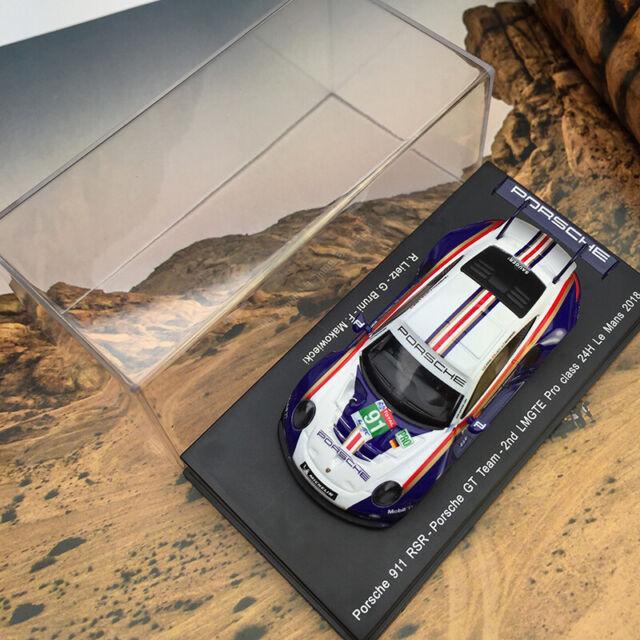 PORSCHE 911 RSR #91 LMGTE Pro Le Mans 2018 R.Lietz G.Bruni SPARK 1:43 S7032 Mode