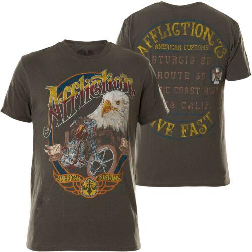 Affliction T T Garage shirt Peinture Grau shirts rrdRPawSq