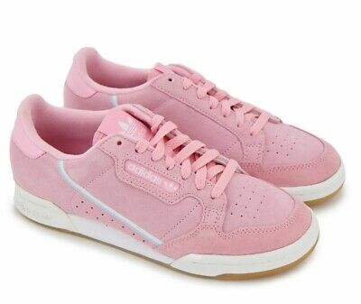 Adidas Continental 80 True Pink Suede Shoes G27720 Sneakers Women's Size 10.5