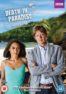 Death-in-Paradise-Series-Five-DVD-2016-Kris-Marshall-cert-12-3-discs