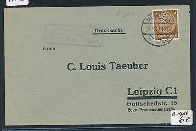Dr > Ddr Landpost Ra2 Aschenhausen über Meiningen Ds 1939 Original 91182