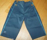 No added sugar baby boy smart blue trousers pants 9-12, 12-18 m BNWT designer