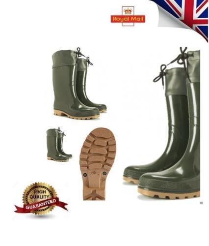 Waterproof Boots New Men Women Wellington Walking Hunting Farming Wellies GRS UK