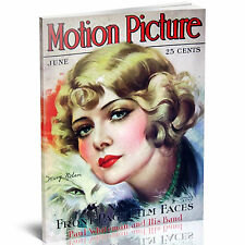 MOTION PICTURE Magazine - HUGE 307 ISSUES on 2 DVDs - 1911 - 1941 Film Stars