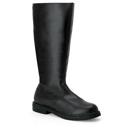 "FUNTASMA Captain-100 1/"" Heel Closed Toe Knee-High Boots"