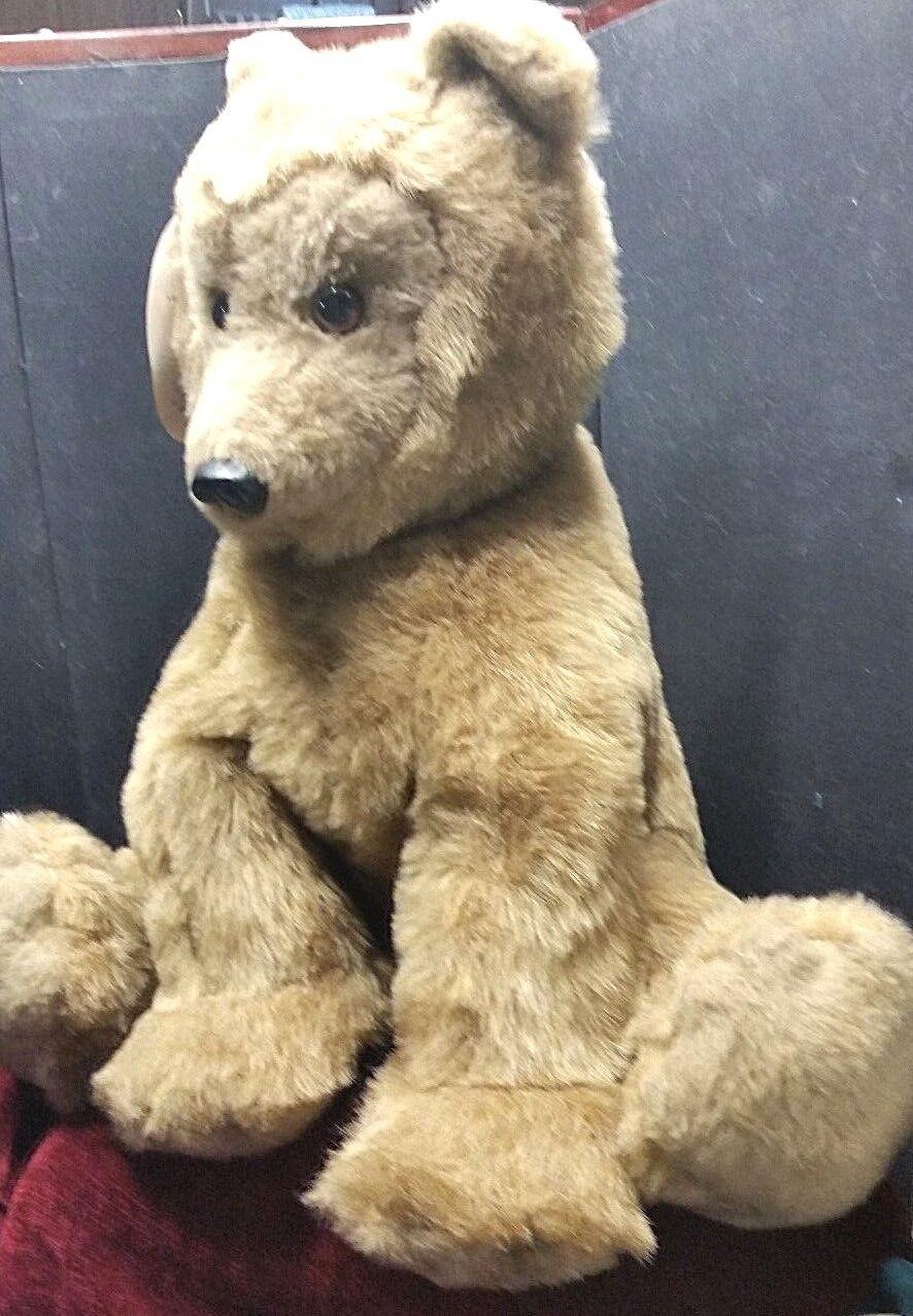 Vintage DAKIN Bearfoot Pillow Pets Stuffed 20
