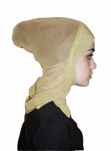 Neuf Maille Légère Ninja Hijab undercap Amira