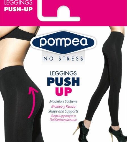 Pantacollant Leggings donna Pompea modellante e contenitiva Push Up art Leggpush